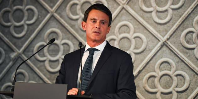 Manuel Valls officialise sa candidature à la mairie de Barcelone et va démissionner de son poste de député