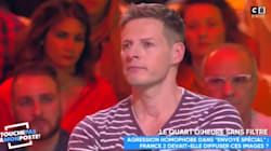 Par peur des agressions homophobes, Matthieu Delormeau dit porter une