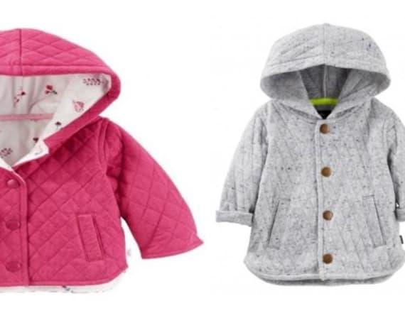 OshKosh B'gosh recalls 38,000 baby jackets