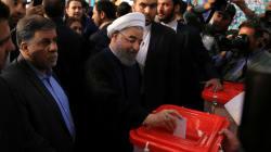 Incumbent President Hassan Rouhani Wins Iran's