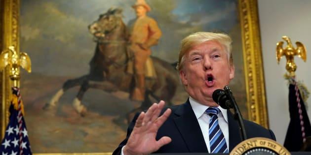 Donald Trump à la Maison Blanche le 14 décembre.