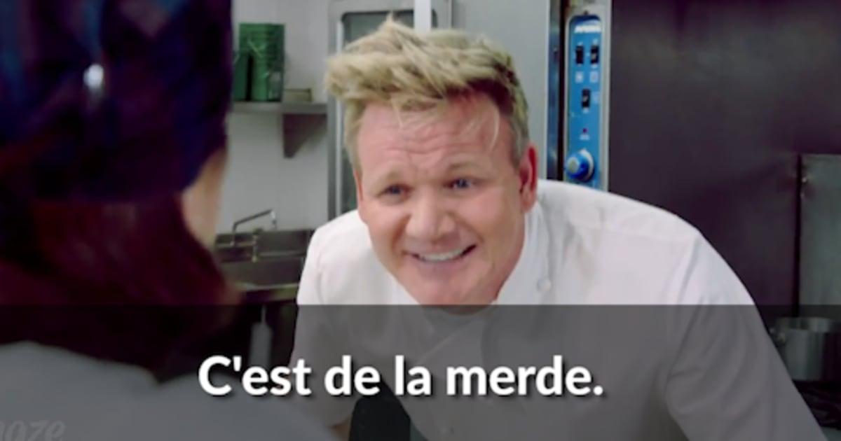 gordon ramsay veut vous apprendre insulter les plats qu. Black Bedroom Furniture Sets. Home Design Ideas