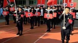 Dans un lycée de Taïwan, un défilé nazi provoque