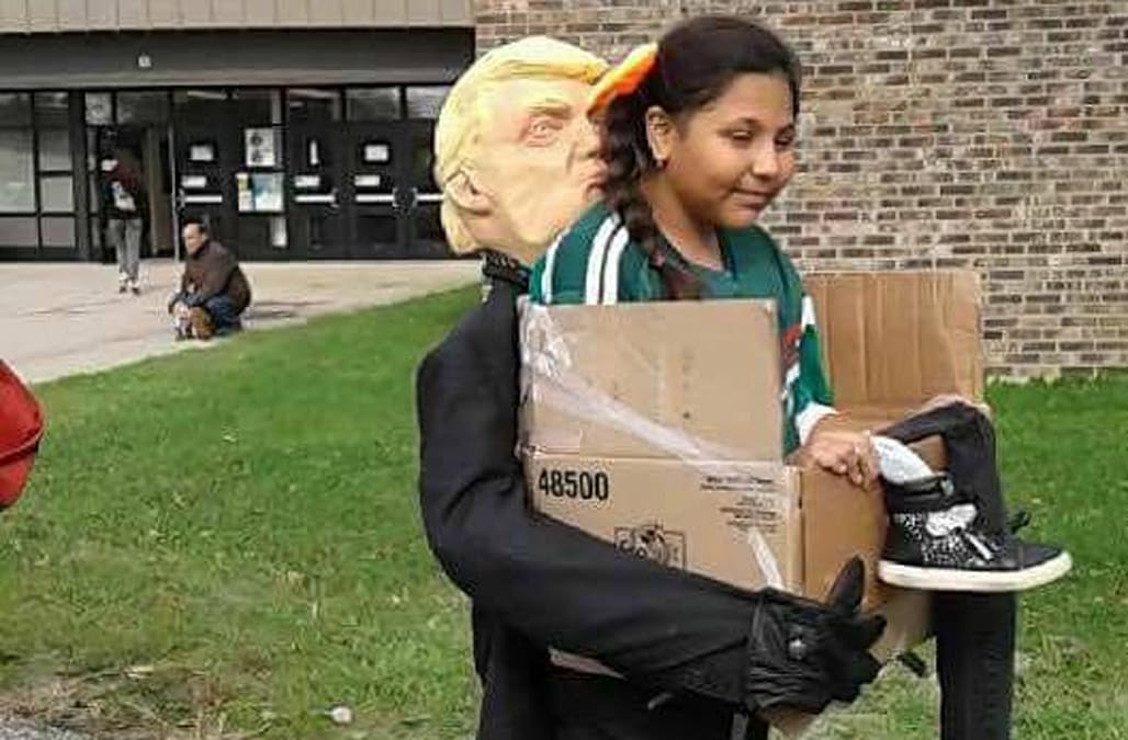 People are upset about this 'Getting Deported by Trump' Halloween ...