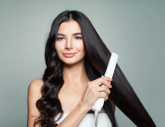 This luxe flat iron is 90 percent off