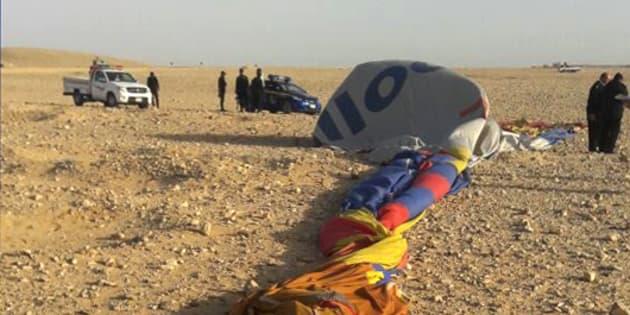 Un crash de montgolfière en Égypte fait un mort et une douzaine de blessés
