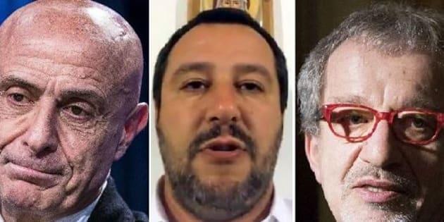 Salvini contro i migranti