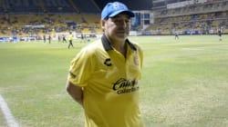 La huella de Maradona con los Dorados de
