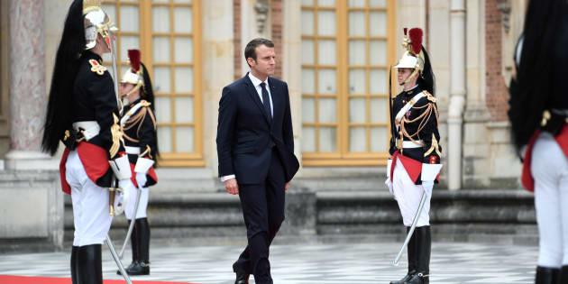 Macron devant le Congrès