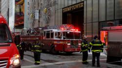 Incendio en la azotea de la Torre Trump de NY deja a por lo menos dos
