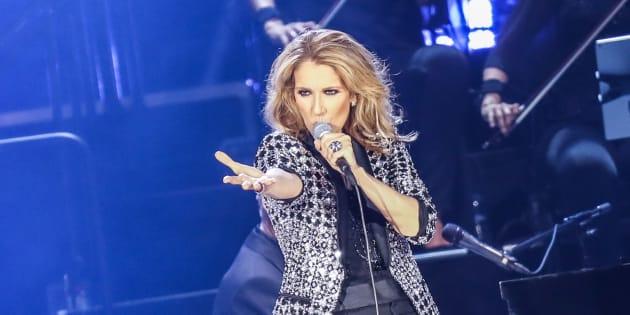 Retour de Céline Dion sur scène ce soir
