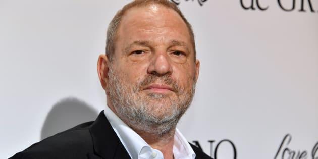 O produtor de cinema americano Harvey Weinstein na 70ª edição do Festival de Cinema de Cannes. 23 de maio de 2017.