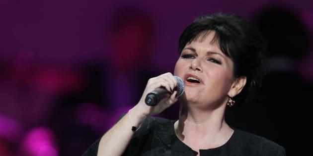 Maurane en concert à Paris en 2013.