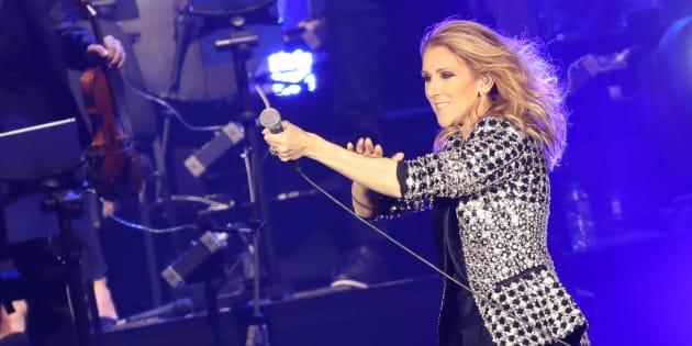 Affaiblie, elle annule un concert pour raisons de santé — Céline Dion