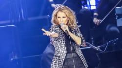 Céline Dion de retour sur scène ce
