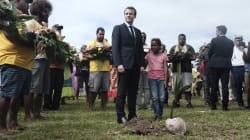 À quoi faisait référence Macron en parlant d'une petite fille et d'un arbre à