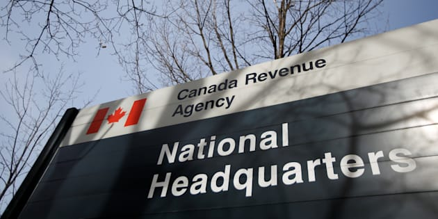 A sign is pictured in front of the Canada Revenue Agency (CRA) national headquarters in Ottawa, March 13, 2017.