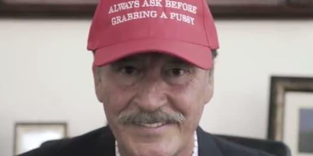 """L'ex-président mexicain candidat à la Maison Blanche, parce que """"n'importe qui peut devenir président des États-Unis"""""""