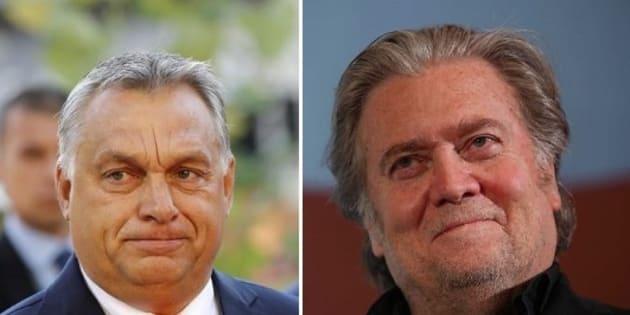 """Steve Bannon: """"Ma Orban non è fascista"""""""