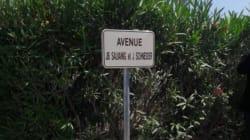 Une avenue baptisée