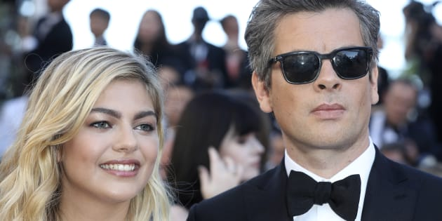 Au festival de Cannes 2017, Benjamin Biolay et Louane ensemble sur le tapis rouge