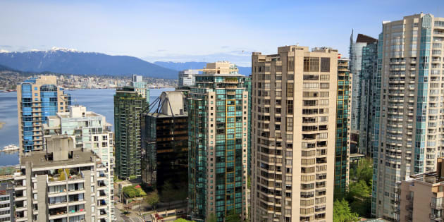 Condo towers in Vancouver's West End. The city has seen a bounce-back in its real estate market, led by condos and townhomes, the city's real estate board says.
