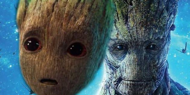 """Le réalisateur des """"Gardiens de la Galaxie"""" dévoile que Groot est mort et que Baby Groot est son fils."""
