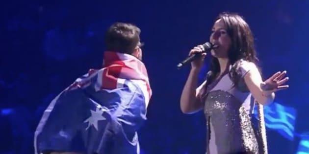 """L'inconnu"" de l'Eurovision est l'Ukrainien Vitalii Sediuk."