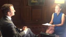 Quand Laurence Haïm parlait à Macron de son intéressant