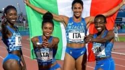 Giovani, vincenti e italianissime. La staffetta 4x400