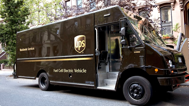 2dbdb5032f The shipping giant said its prototype will be a medium-duty delivery truck  that will be powered by an electric ...