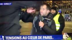 Un journaliste de BFMTV agressé en direct pendant la mobilisation des gilets