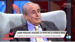 Jaime Peñafiel compara el comportamiento del rey y de la reina tras la muerte de su