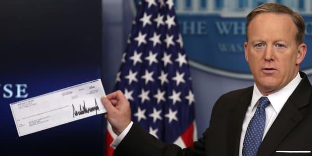On sait à qui Trump va donner son salaire de président (et ça ne doit pas lui plaire)