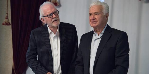 Ricardo Pascoe Pierce (izq.) y Demetrio Sodi de la Tijera (der.)