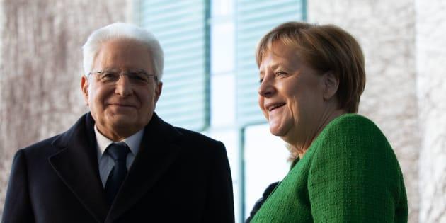 """""""Mi concentro su Conte, non sui singoli ministri"""": Merkel incontra Mattarella e benedice il premier"""