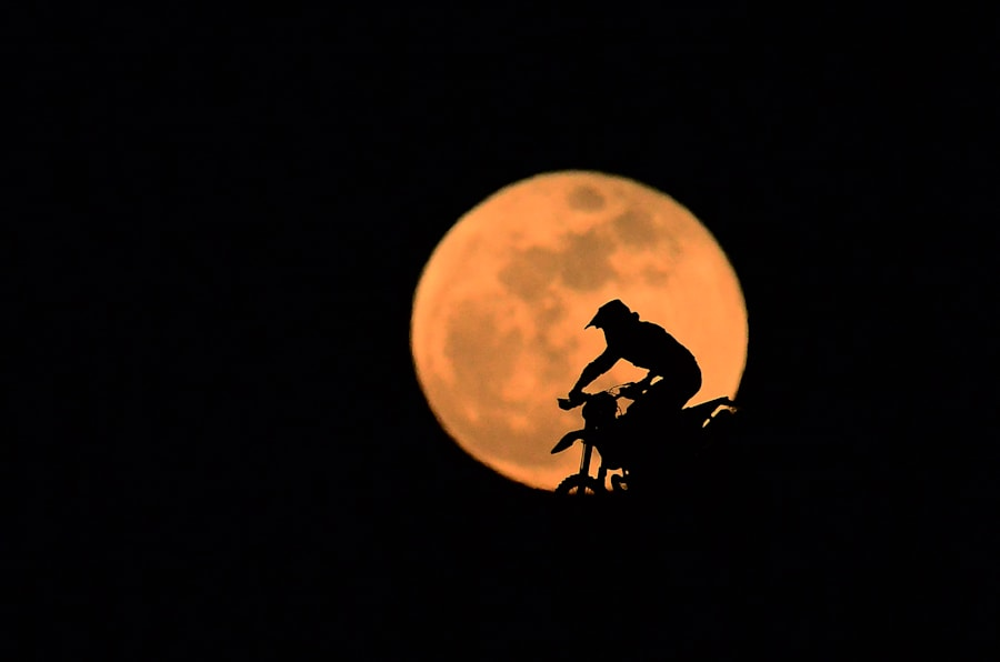 Super lua em Kocaeli, na Turquia.