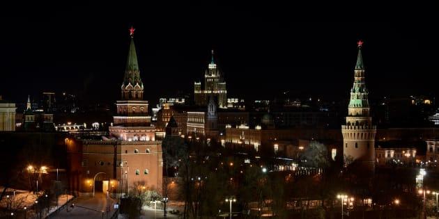 Le Kremlin à Moscou.