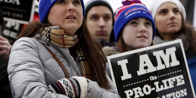 Pour répondre à la Woman's march, les opposants à l'avortement comptent déferler sur Washington