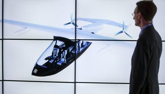 Rolls-Royce présente son «taxi volant»