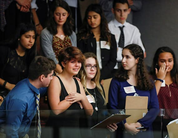 Students weep as assault rifle ban motion fails