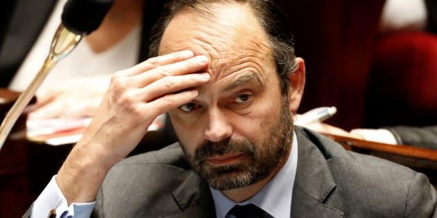 Edouard Philippe à l'Assemblée nationale au mois de février.