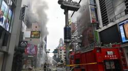 東京・渋谷のセンター街でビル火災 2人がけが《UPDATE》