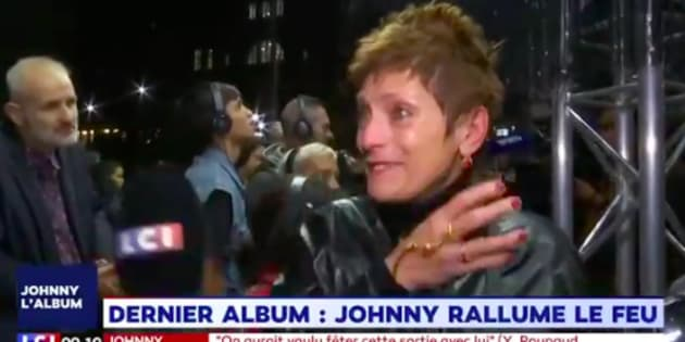 Les fans de Johnny après l'écoute des premières notes de son album posthume