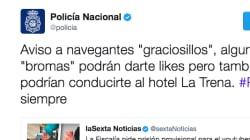 El tuit de la Policía Nacional sobre el youtuber de las galletas con pasta de dientes que indigna a muchos