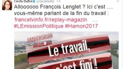 Quand Cécile Duflot fact-check en direct François