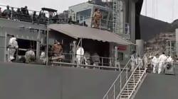 Sbarca nave a Salerno con 26 cadaveri di