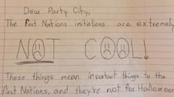 8-Year-Old Calls Out Party City For Its First Nations