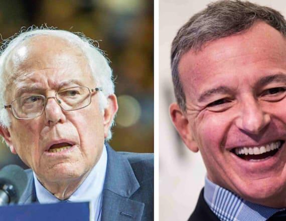 Bernie Sanders slams Disney CEO over $400M pay