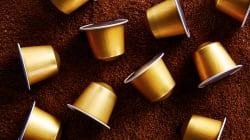 Le café en capsules,